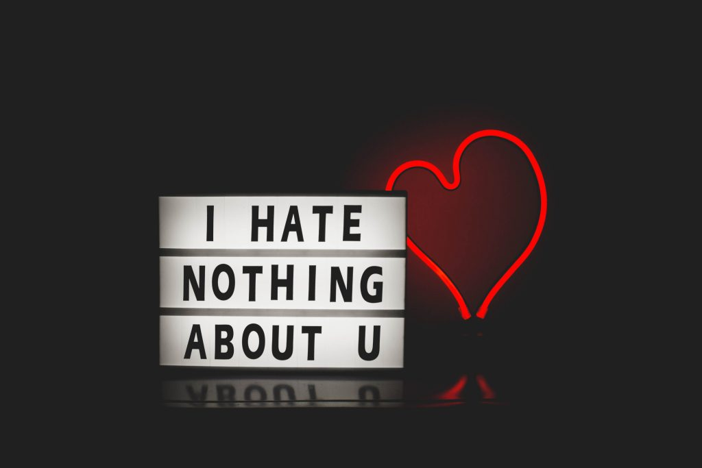 i HATE NOTHING